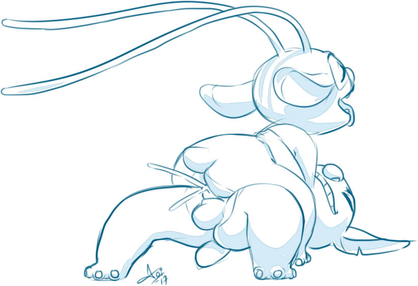 stich lilo nude and stich Loz a link to the past