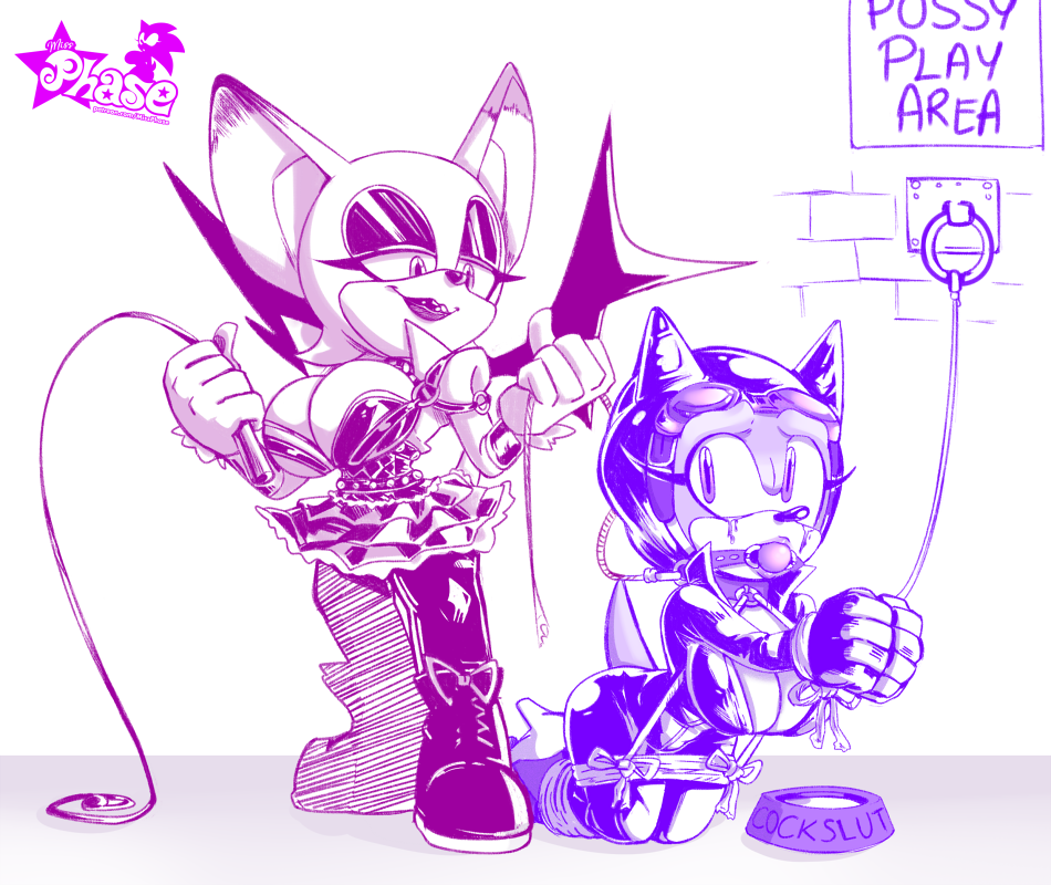 amy sonic and rouge x Life is strange fan art