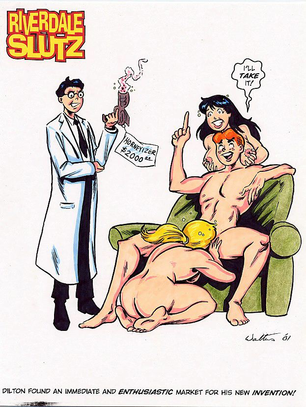 comics veronica betty porn and F3 frantic frustrated & female