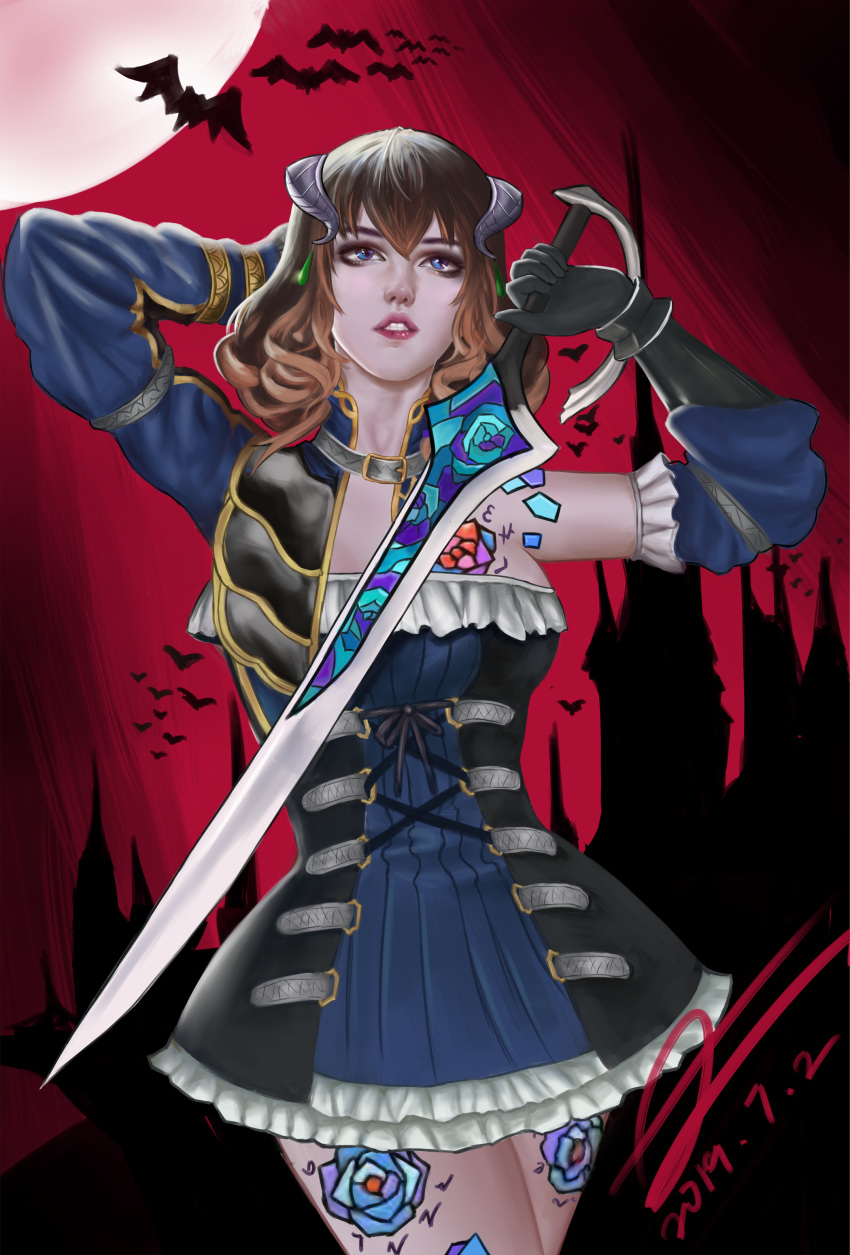 night after gebel of bloodstained the ritual Ore, twintail ni narimasu