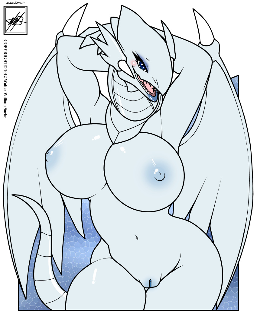 nude eyes white blue dragon Dark magician of chaos cosplay