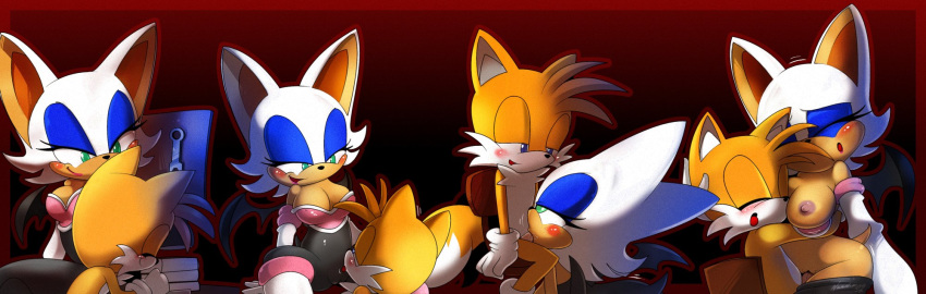 x tails rouge the bat Wolf's rain toboe and tsume
